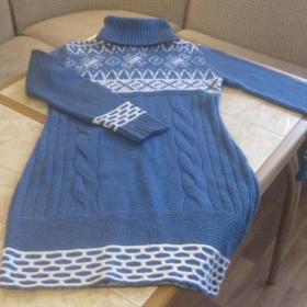 Шерстяное платье советских времен. Размер 44-46.