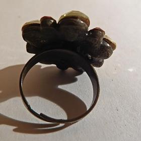 "Кольцо. Перстень ""Цветок"""