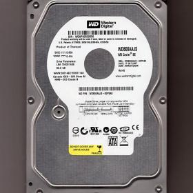 Жесткий диск HDD WD Western Digital Caviar SE 80 Gb SATA 3,5 дюйма